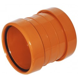 Pipe Coupling Socket 110mm Double