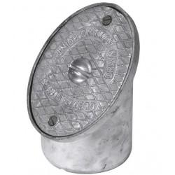 Aluminium Rodding Point 110mm