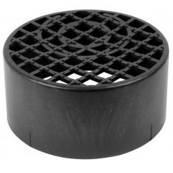 Round Gully Grid Black