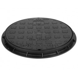 Large Inspection Cover & Frame Round