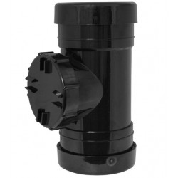 Black Access Pipe 110mm