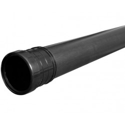 Black Soil Pipe 110mm 6m Pack 3m